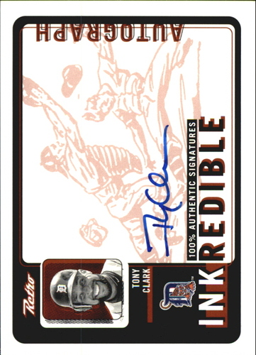 Photo of 1999 Upper Deck Retro Inkredible #TC Tony Clark