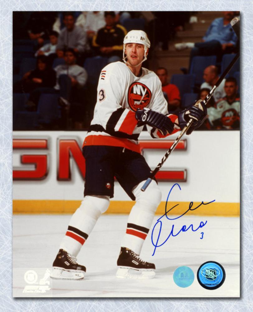 Zdeno Chara New York Islanders Autographed Rookie Action 8x10 Photo
