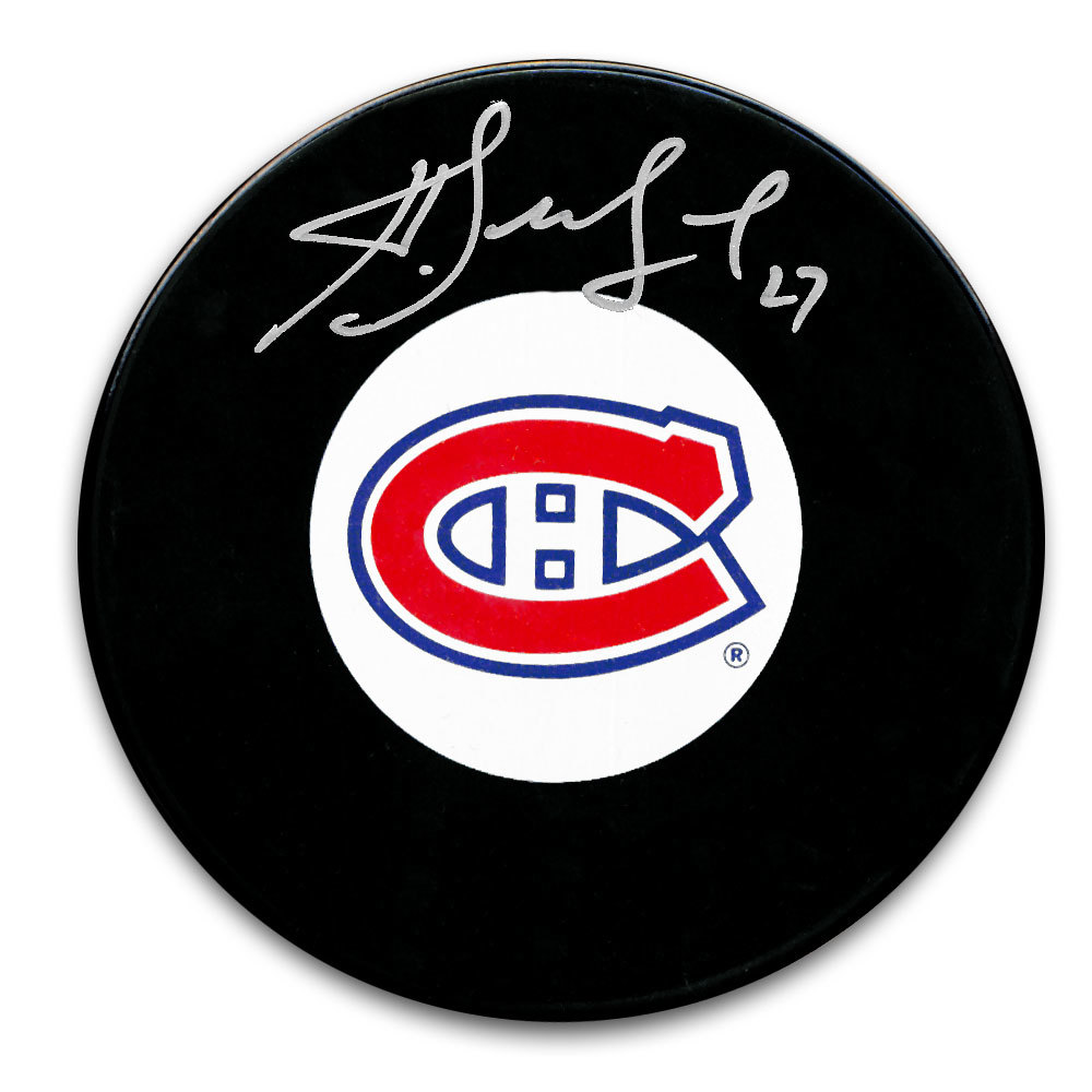 Alex Kovalev Montreal Canadiens Autographed Puck