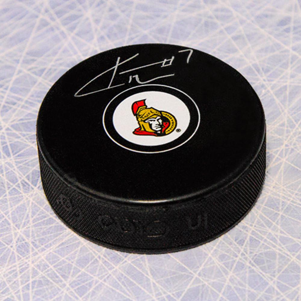 Kyle Turris Ottawa Senators Autographed Hockey Puck