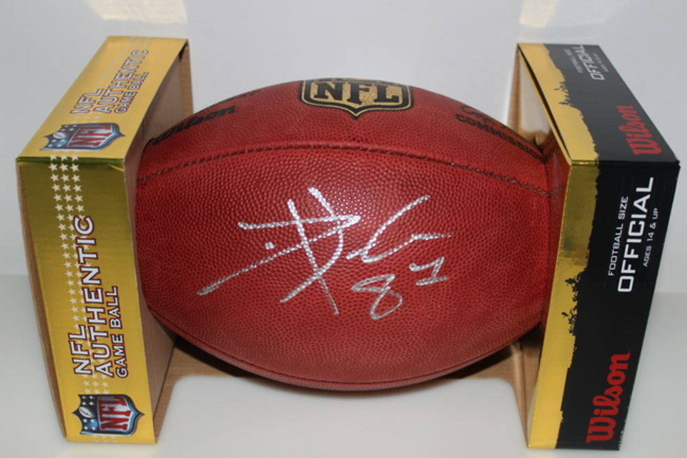 CHIEFS - TRAVIS KELCE SIGNED AUTHENTIC FOOTBALL