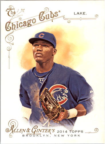 Photo of 2014 Topps Allen and Ginter #42 Junior Lake