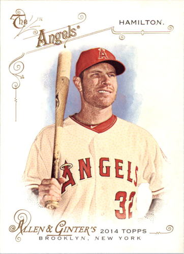 Photo of 2014 Topps Allen and Ginter #220 Josh Hamilton