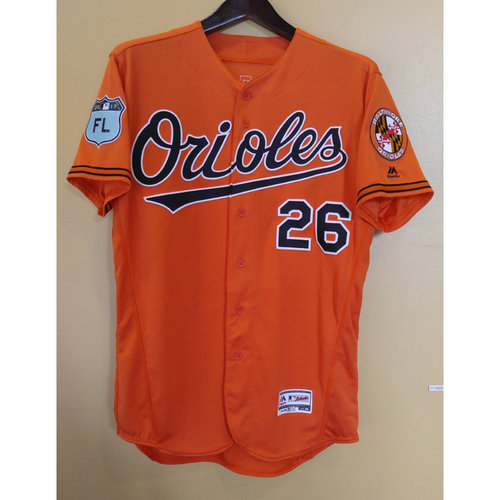 Buck Showalter - Spring Training Jersey: Team-Issued