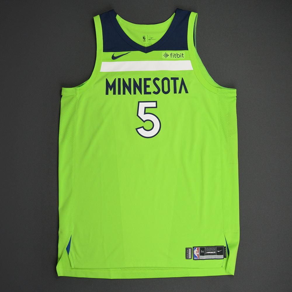 Gorgui Dieng - Minnesota Timberwolves - Statement Game-Worn Jersey - 2017-18 Season