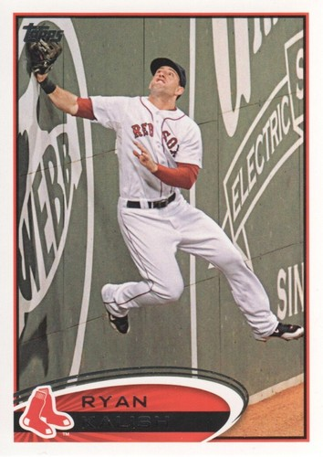Photo of 2012 Topps #631 Ryan Kalish