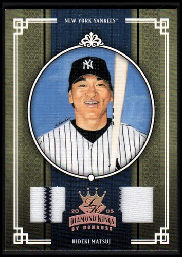 Photo of 2005 Diamond Kings Materials Bronze #161 H.Matsui Jsy-Pants/200