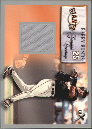 Photo of 2000 E-X Genuine Coverage #25 Barry Bonds