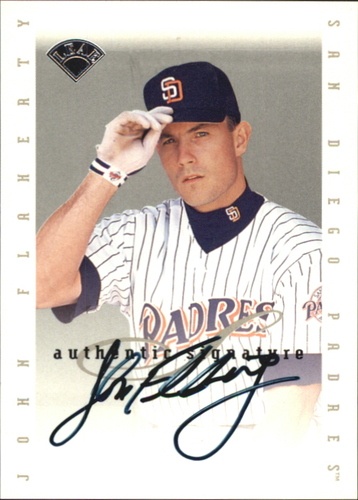 Photo of 1996 Leaf Signature Extended Autographs #52 John Flaherty
