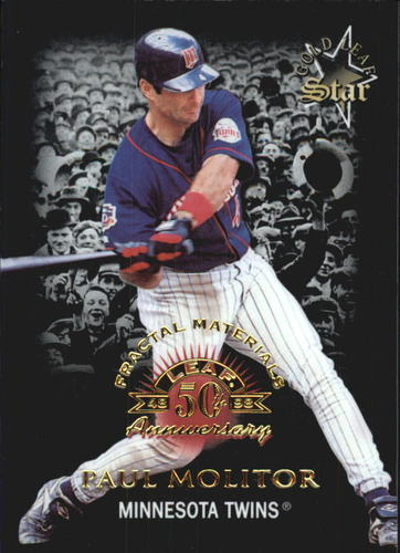 Photo of 1998 Leaf Fractal Materials #175 Paul Molitor GLS PX