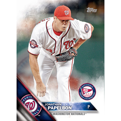 Photo of JONATHAN PAPELBON AUTOGRAPHED, PERSONALIZED & MLB AUTHENTICATED LIMITED EDITION WNDF BASEBALL CARD
