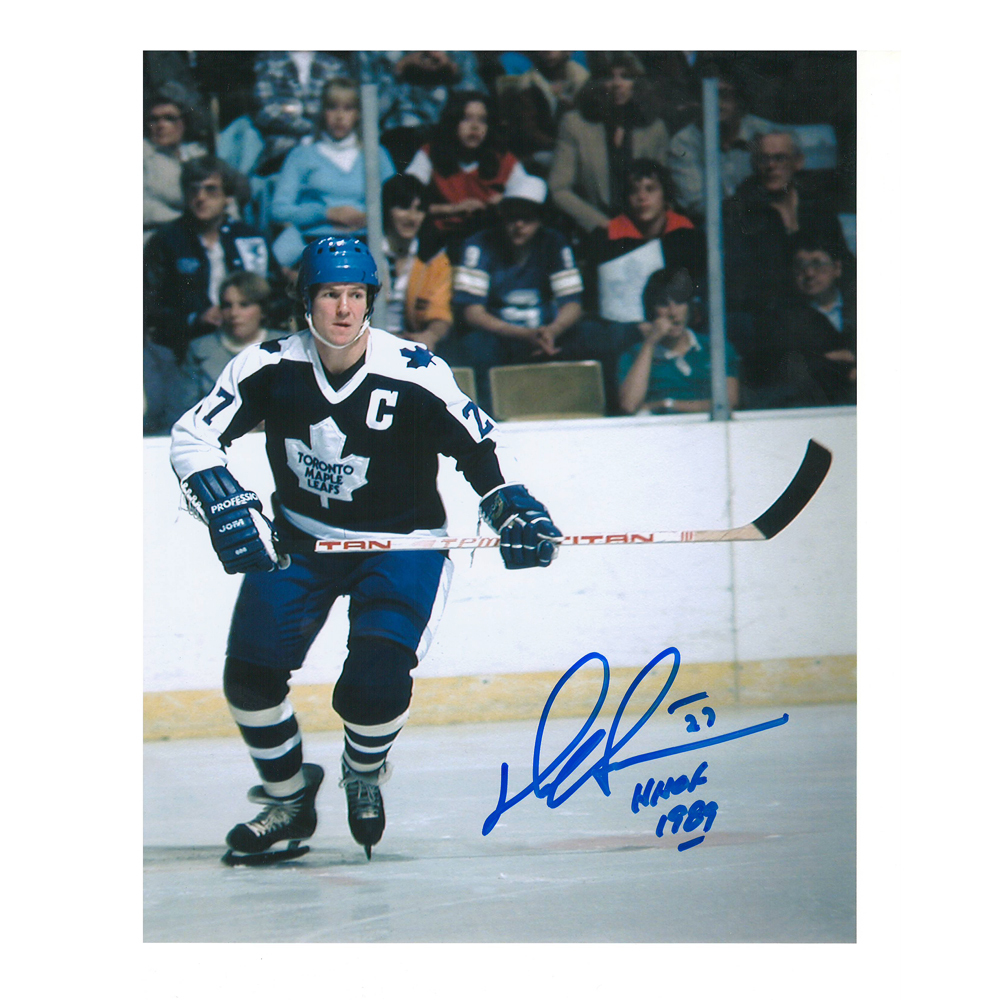 DARRYL SITTLER Signed Toronto Maple Leafs 8 X 10 Photo - 70095