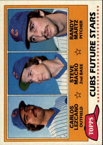 Photo of 1981 Topps #381 Carlos Lezcano RC/Steve Macko/Randy Martz RC