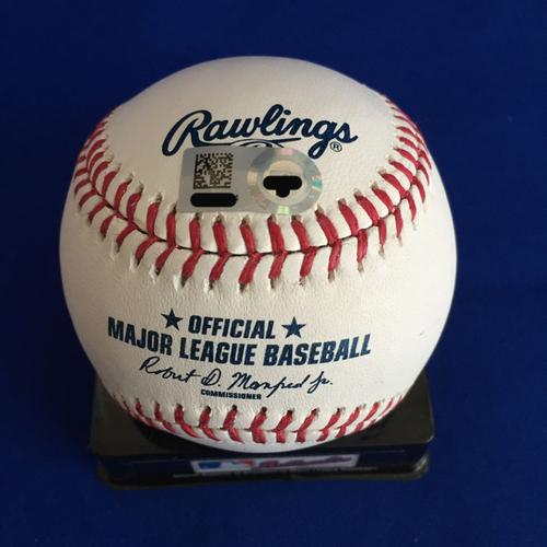 Photo of UMPS CARE AUCTION: Carlos Rodon Signed Baseball