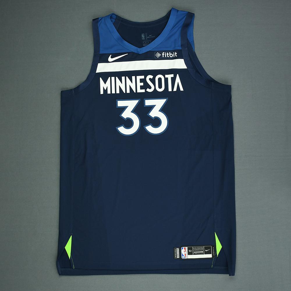 Keita Bates-Diop - Minnesota Timberwolves - 2018 NBA Draft - Autographed Jersey