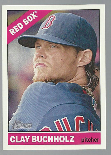 Photo of 2015 Topps Heritage #98 Clay Buchholz