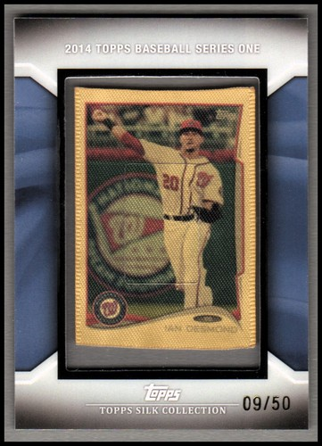 Photo of 2014 Topps Silk Collection #38 Ian Desmond