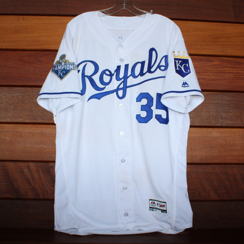 Photo of Eric Hosmer Game-Used Jersey (9/14/16) - Size 46T