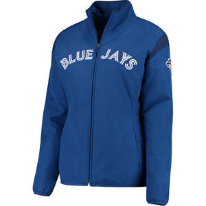 Toronto Blue Jays Women's Authentic Collection Thermal Jacket by Majestic
