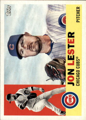 Photo of 2017 Topps Archives #85 Jon Lester