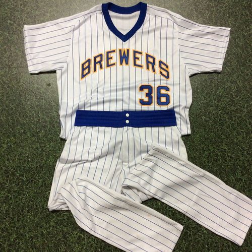 Photo of Derek Johnson Team-Issued 1982 Reunion Weekend Uniform