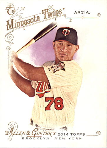 Photo of 2014 Topps Allen and Ginter #51 Oswaldo Arcia