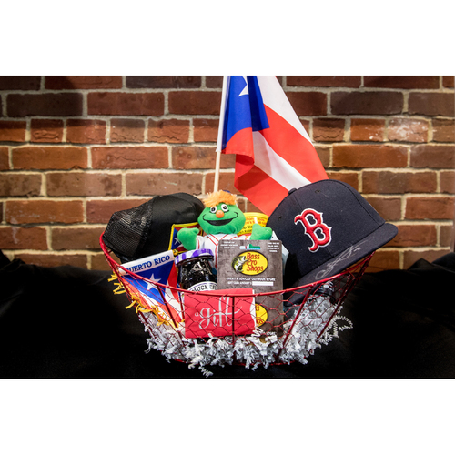 Photo of Red Sox Wives' Hurricane Harvey Basket Auction: Christian Vazquez Basket