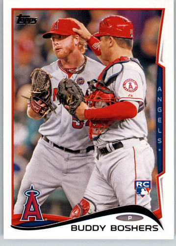 Photo of 2014 Topps #34 Buddy Boshers Rookie Card -- Twins post-season