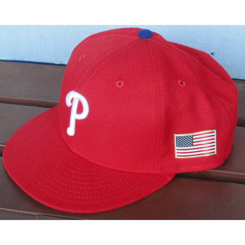 Photo of 2017 Game-Used Cap: Rhys Hoskins