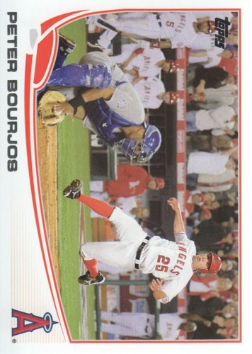 Photo of 2013 Topps #520 Peter Bourjos