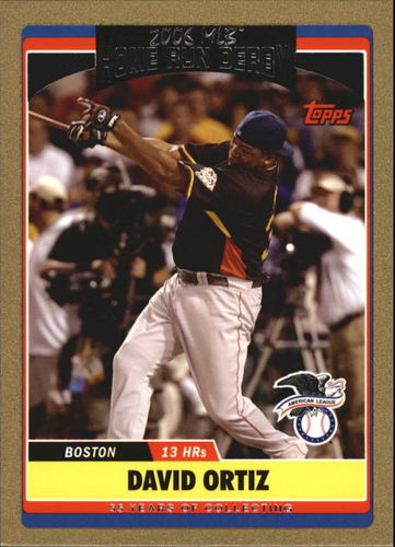 Photo of 2006 Topps Update Gold #286 David Ortiz HRD