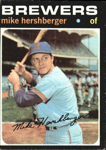 Photo of 1971 Topps #149 Mike Hershberger