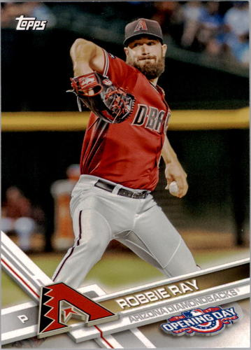 Photo of 2017 Topps Opening Day #55 Robbie Ray