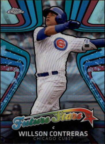 Photo of 2017 Topps Chrome Future Stars #FS2 Willson Contreras