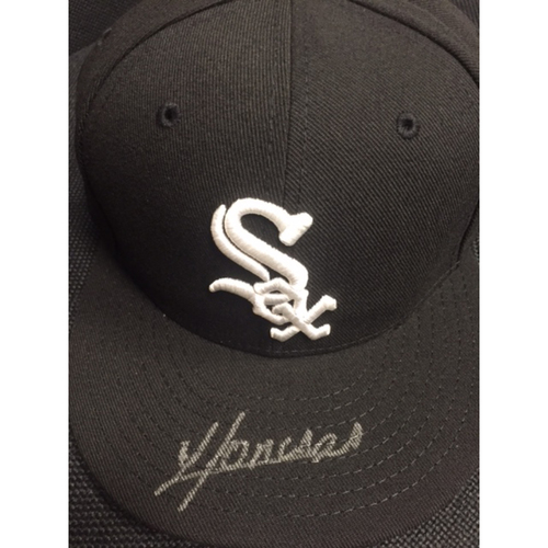Photo of Sox Pride Club 2017 Auction: Yoan Moncada Autographed Cap