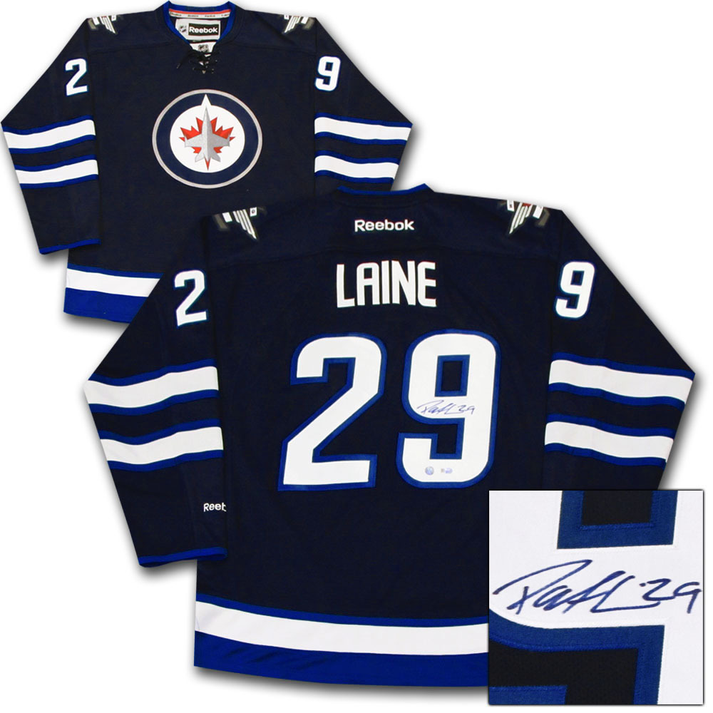 Patrik Laine Autographed Winnipeg Jets Jersey