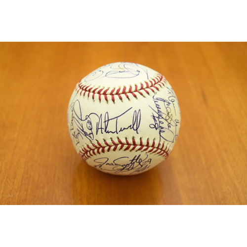 Photo of 2005 Detroit Tigers Team Signed Baseball - Not Authenticated by MLB