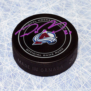 Peter Forsberg Colorado Avalanche Autographed Official Game Puck