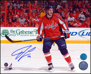John Carlson Washington Capitals Autographed Sea Of Red 8x10 Photo