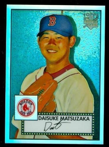 Photo of 2007 Topps 52 Chrome Refractors #34 Daisuke Matsuzaka