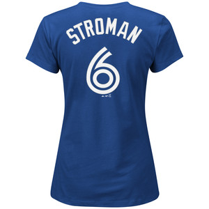 Toronto Blue Jays Women's Marcus Stroman Player T-Shirt by Majestic