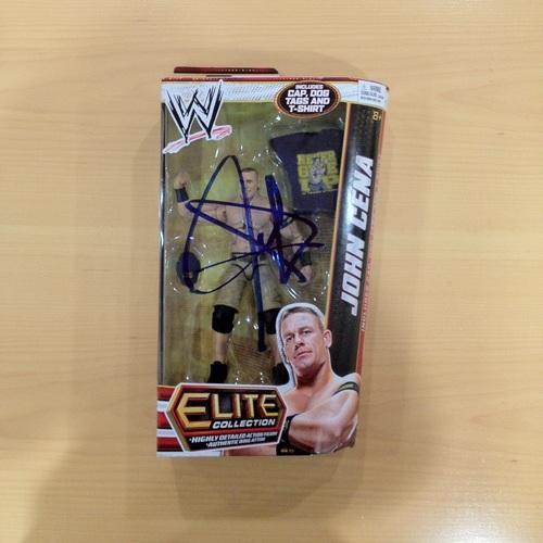 SIGNED John Cena Mattel Elite Series 23 John Cena Figure