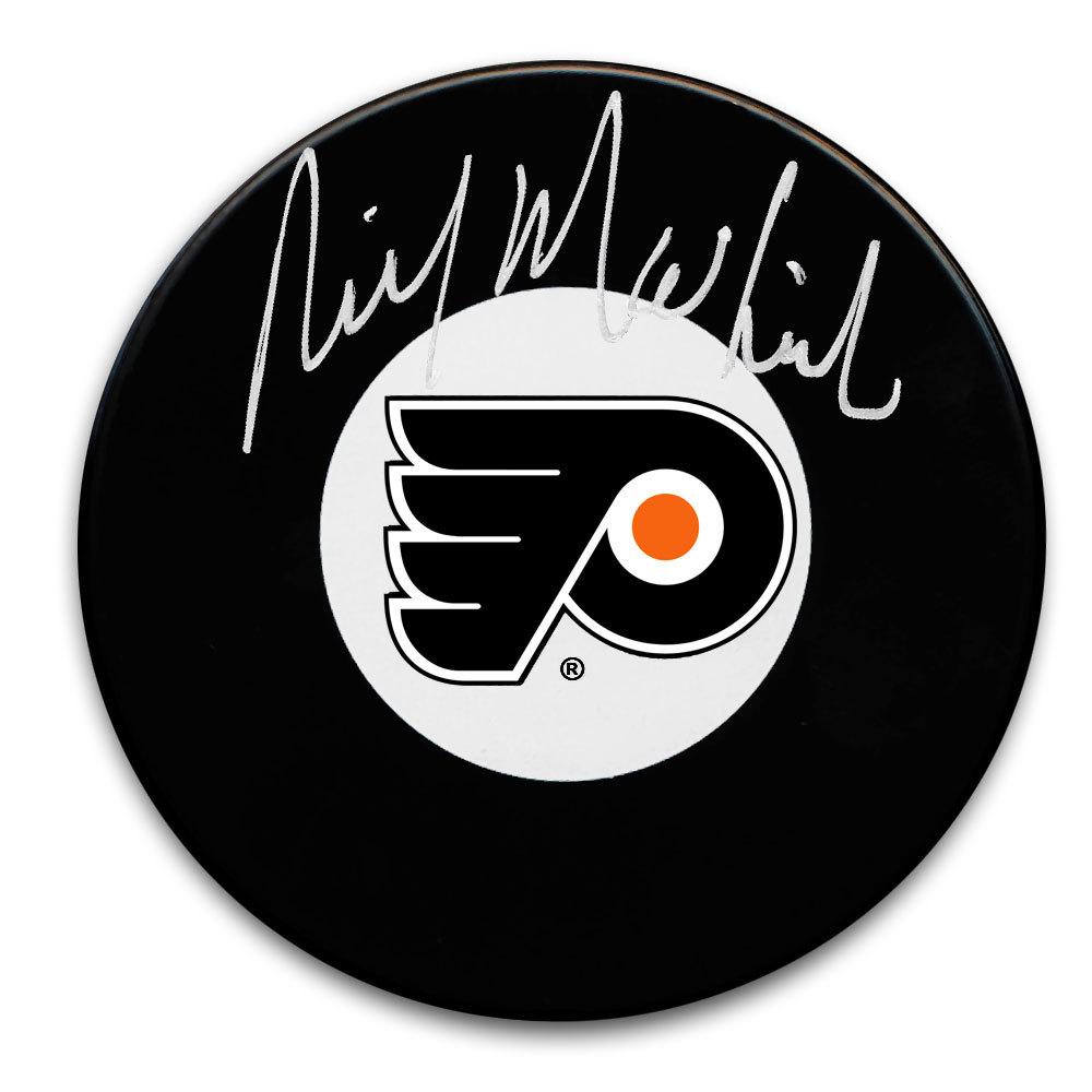 Rick MacLeish Philadelphia Flyers Autographed Puck
