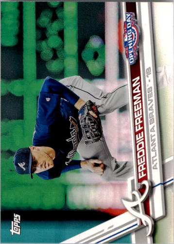 Photo of 2017 Topps Opening Day #26A Freddie Freeman