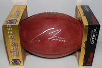 CHIEFS - ERIC FISHER SIGNED AUTHENTIC FOOTBALL