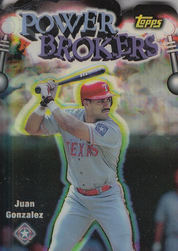 Photo of 1999 Topps Power Brokers Refractors #PB5 Juan Gonzalez