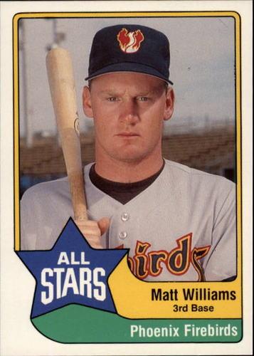 Photo of 1989 Triple A All-Stars CMC #35 Matt Williams