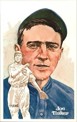 Photo of 1980-02 Perez-Steele Hall of Fame Postcards #47 Joe Tinker -- Set #08689