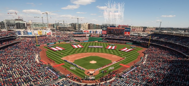 WASHINGTON NATIONALS GAME: 6/5 NATIONALS VS. TAMPA (4 DELTA SKY360° CLUB TICKETS)