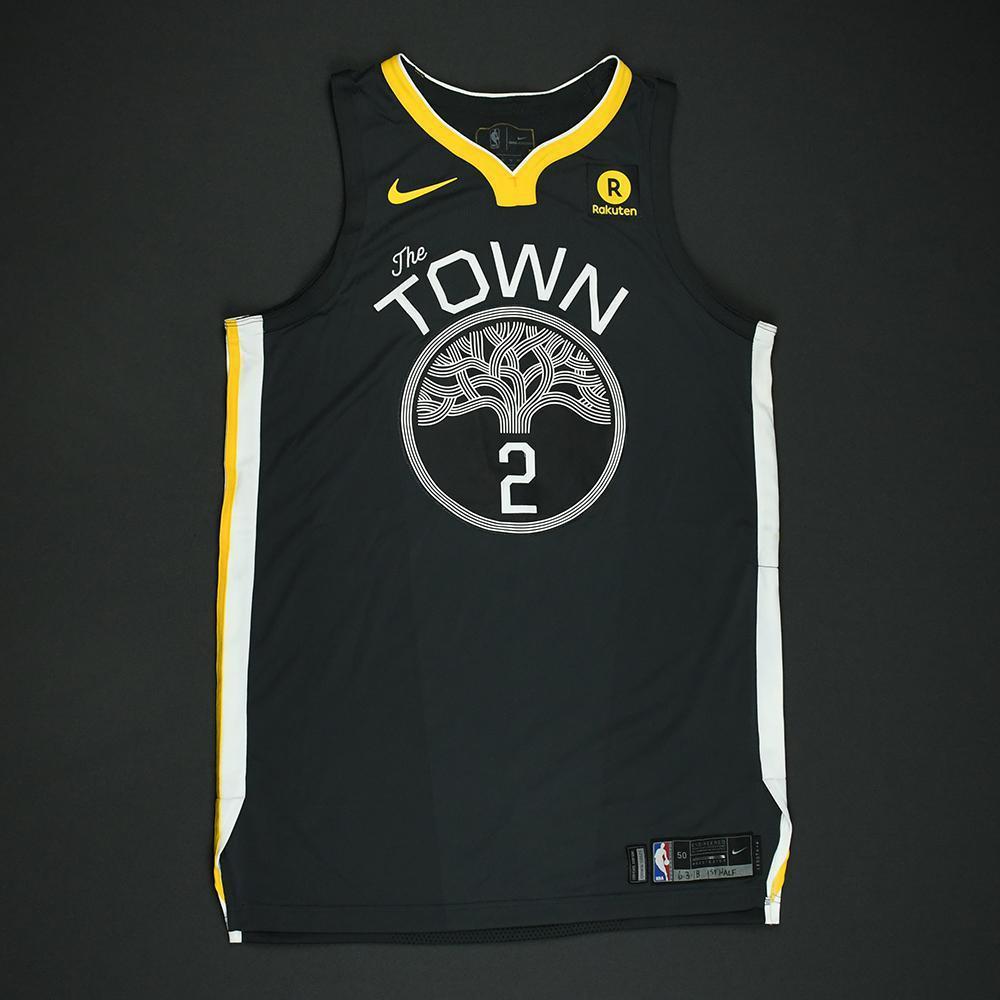 Jordan Bell - Golden State Warriors - 2018 NBA Finals - Game 2 - Game-Worn Gray 'Statement' Jersey - 1st Half Only